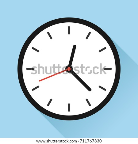wall clock appointment schedule