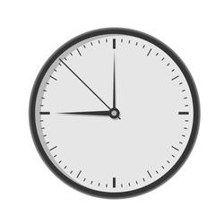 Wall clock. Vector illustration