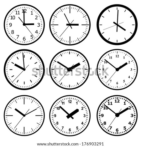 wall mounted digital clock