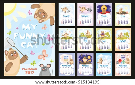 wall  or desk monthly calendar
