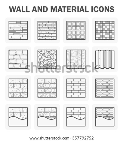 wall pattern and material