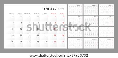 wall quarterly calendar