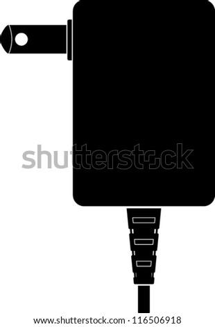 wall plug clip art free vector 4vector. Black Bedroom Furniture Sets. Home Design Ideas