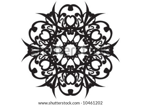 design wallpaper black. vector : Wallpaper design
