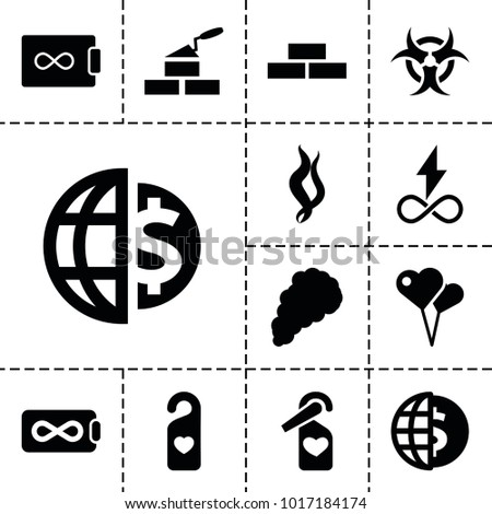 wallpaper icons set of 13