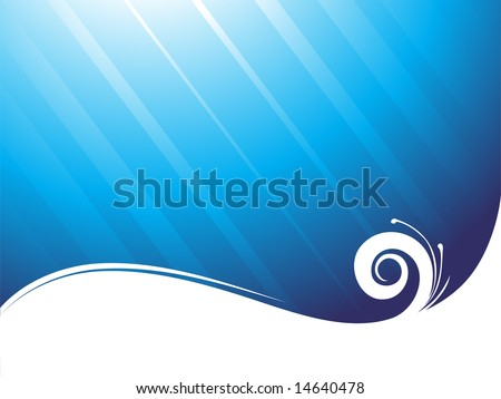 wallpaper sea. stock vector : wallpaper sea
