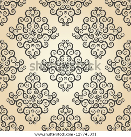 wallpaper seamless texture with lace ornaments.eps 10.