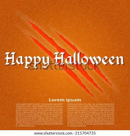Wallpapers for the holiday Halloween. Vector illustration.