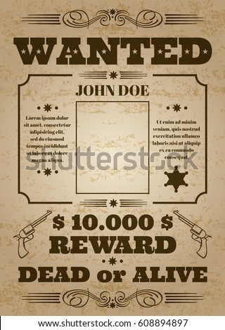 wanted dead or alive western