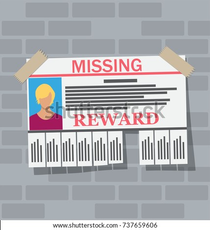 wanted person paper poster