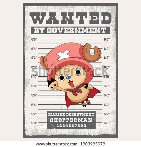 wanted poster chopperman