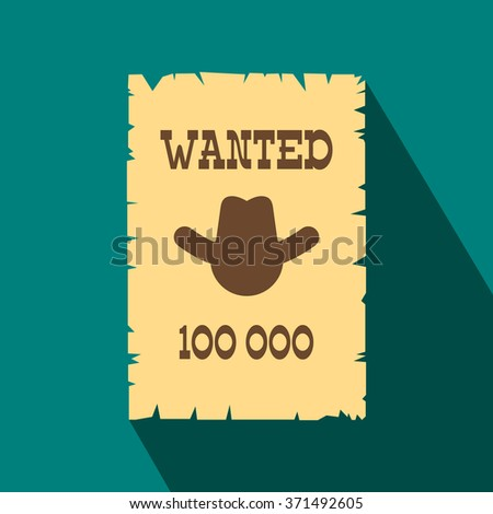 wanted poster icon wanted