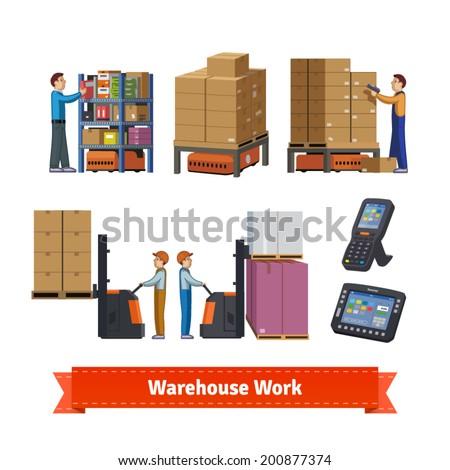 warehouse operations  walkie