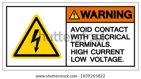 warning avoid contact with