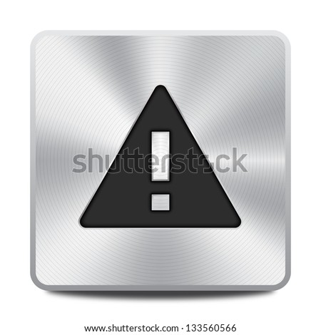 Warning icon / button