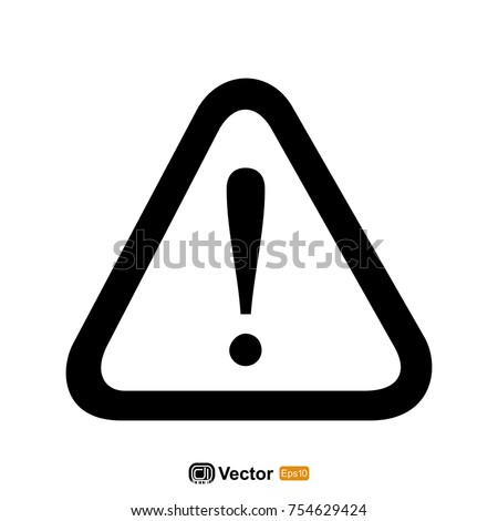 warning icon template