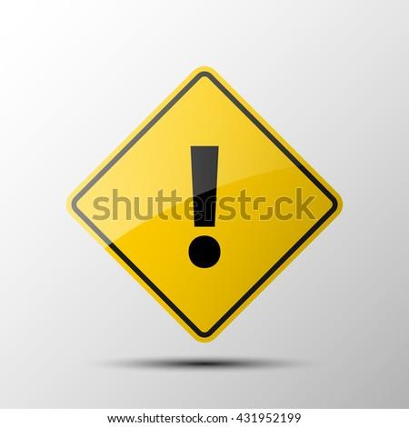 warning icon warning sign