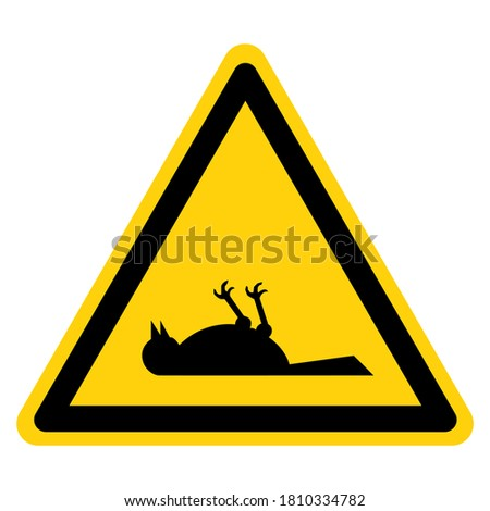 warning poisonous gas dead bird
