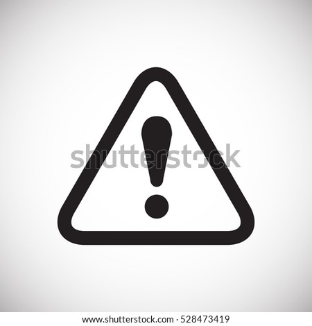 Shutterstock Warning sign icon