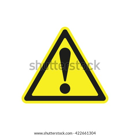 warning sign icon warning sign