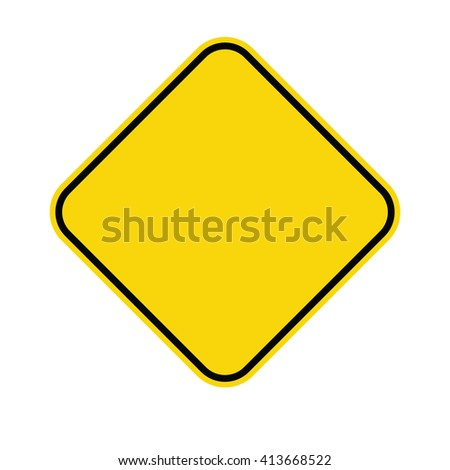 Warning sign. Vector illustration #413668522