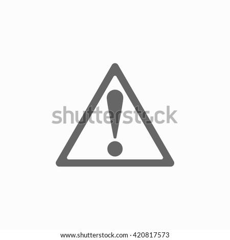 warning sign warning sign icon