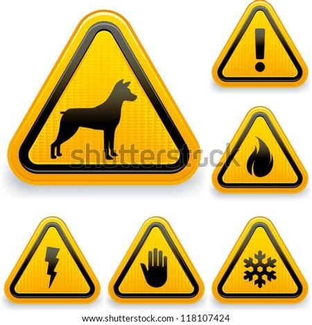 Warning signs (1/2)