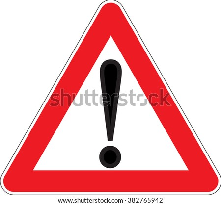 Warning signs Other danger emergency dangerous area