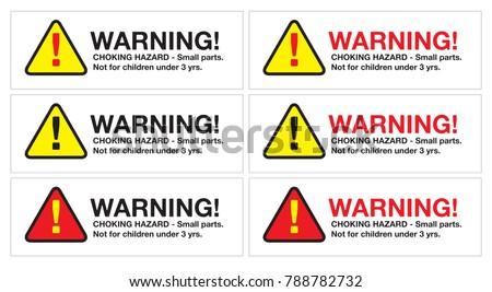 Very best Hazard Stickers Vectors - Download Free Vector Art, Stock Graphics  SZ76