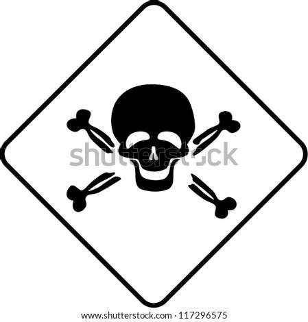 Warning symbol - toxic
