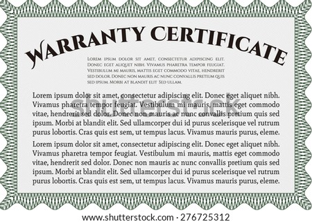 Royalty free template warranty certificate border 427000879 warranty certificate template complex design perfect style with complex background 276725312 yadclub Image collections
