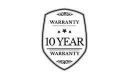 warranty 10 year icon vector