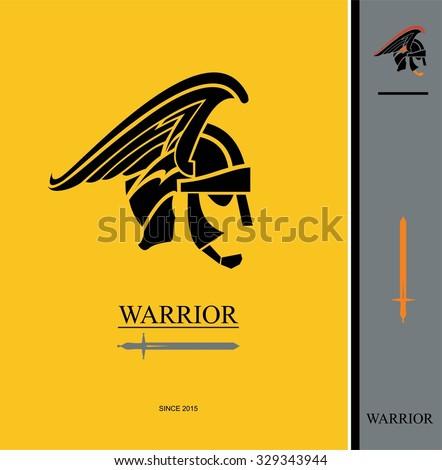 warrior centurion and sword