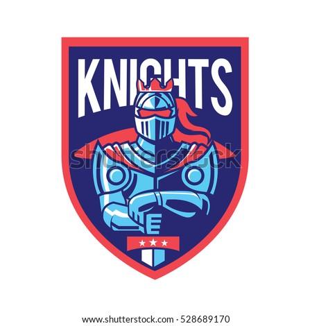 warrior knight logo