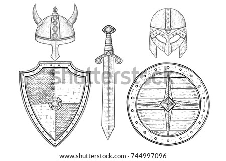 warrior weapons   old medieval