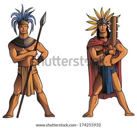 Inca Warrior Art