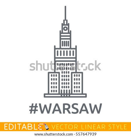 warsaw palace of culture and