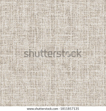 Washed Canvas Textured Background. Seamless Pattern.