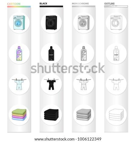 washing machine  bottle of