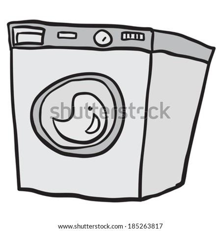 Cartoon Pics of Washing Machines Washing Machine Cartoon Doodle