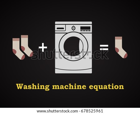 washing machine equation
