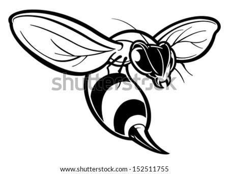 Free Hornet Cartoon Vector - Download Free Vector Art, Stock ...