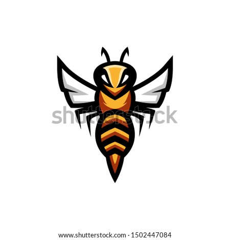 wasp collections logo design vector