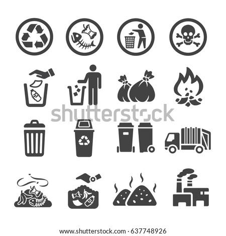 waste,garbage icon Сток-фото ©