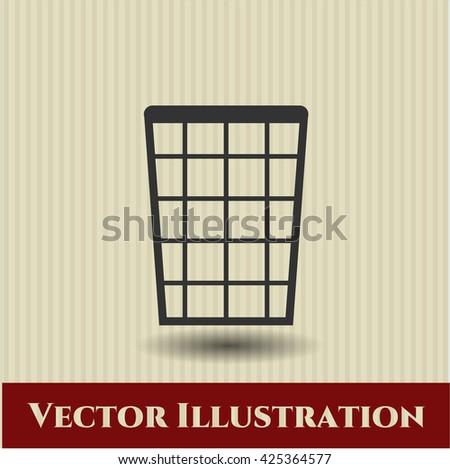 Wastepaper Basket icon