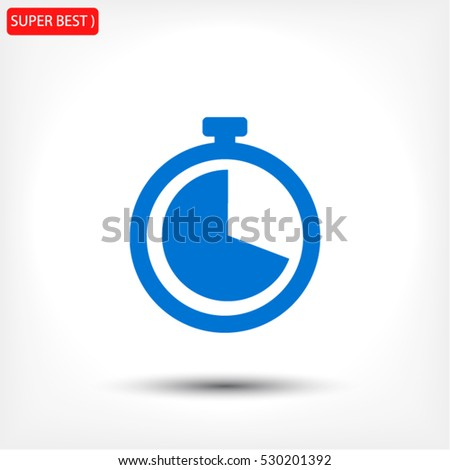 watch line vector icon