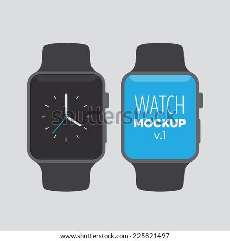 watch mock up v1