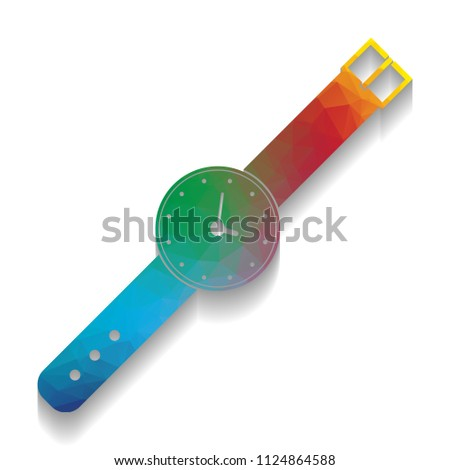 watch sign illustration vector