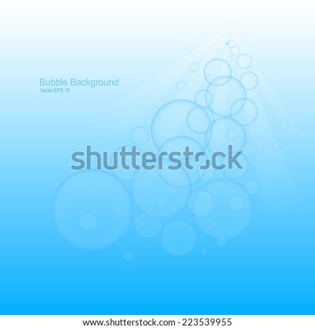 Water babble background. vector illustration EPS 10  #223539955