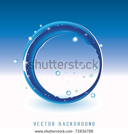Water Circle Background